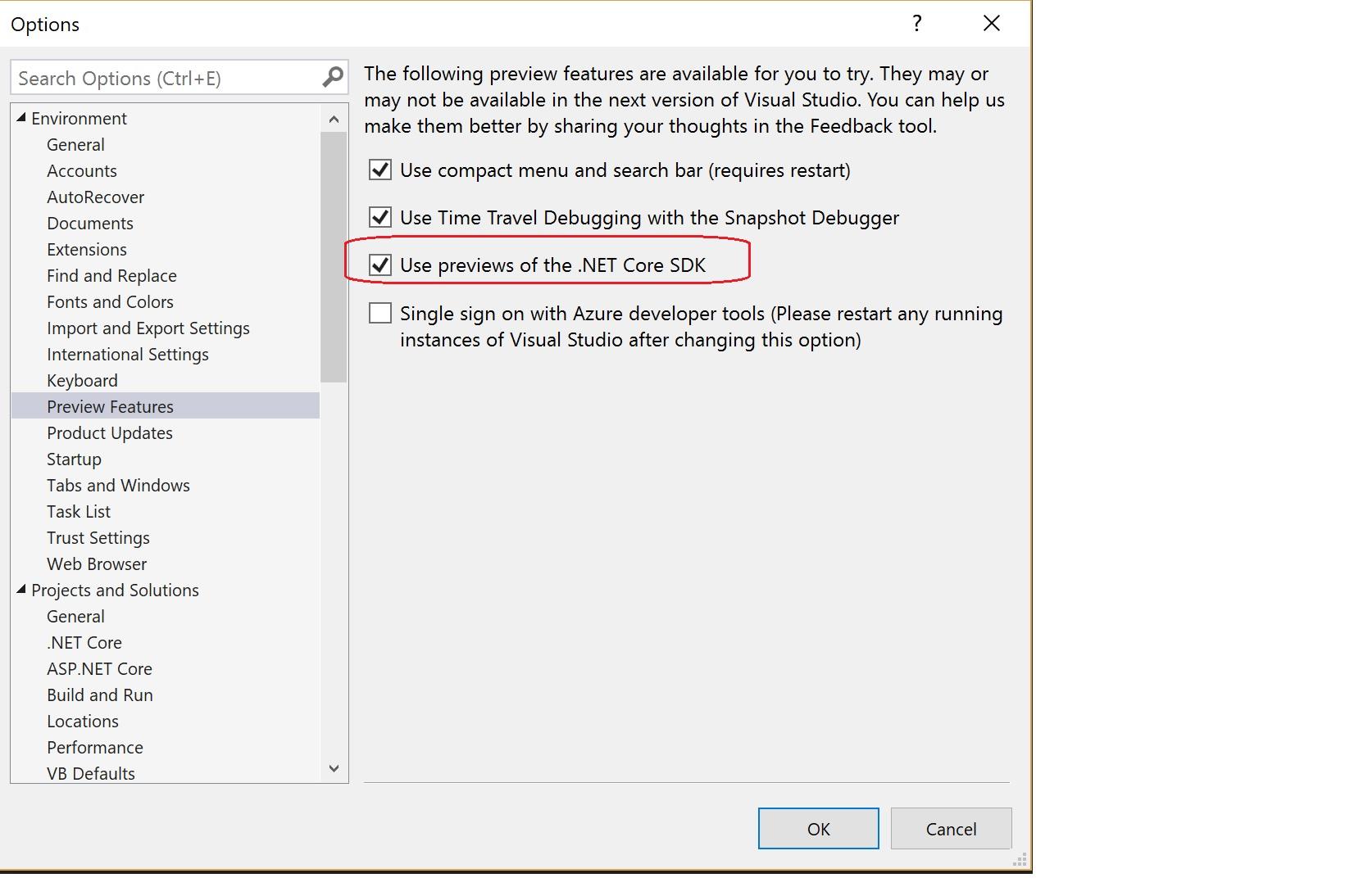 .NET Core 3 Preview